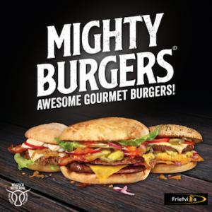 Hamburgers eten rockanje