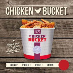 Snackbar Rockanje - Chicken Bucket